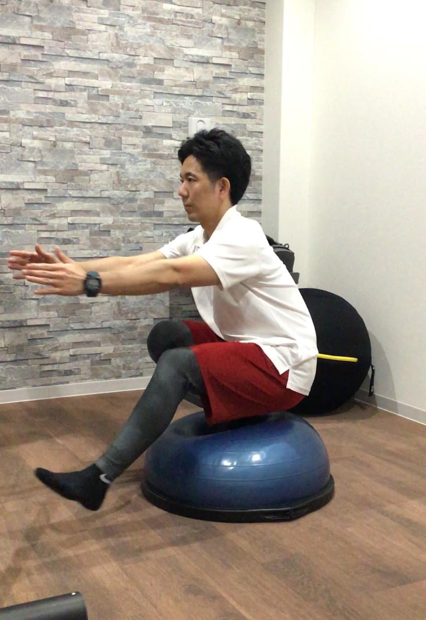 体幹、バランストレーニング